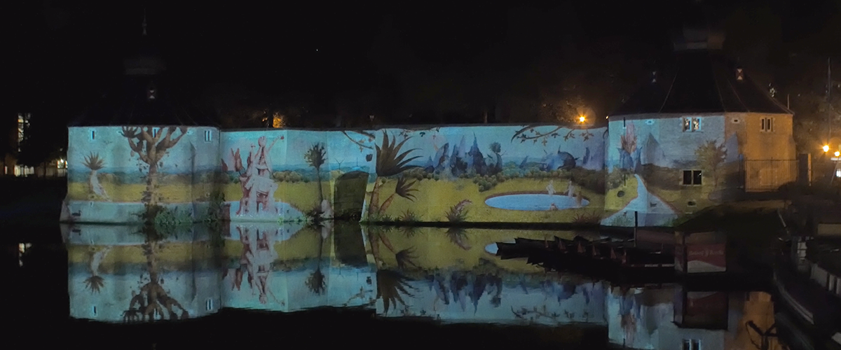 Jheronimus Bosch - Projection Mapping
