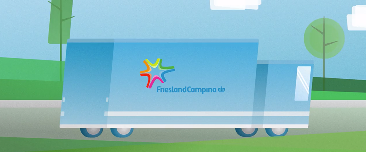 Friesland Campina - Logistic Animations