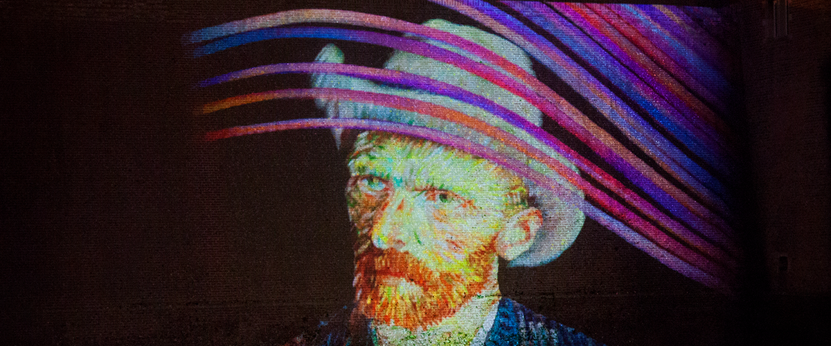 Van Gogh - Projection Mapping